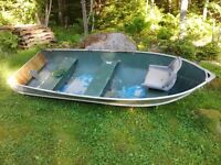 12ft aluminum boat 2hp outboard