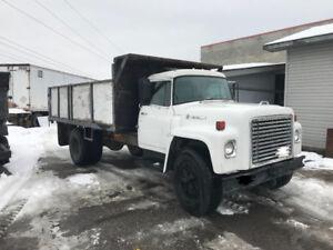 International Loadstar dump truck