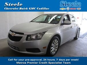 2011 Chevrolet CRUZE LT Turbo One Owner !!!