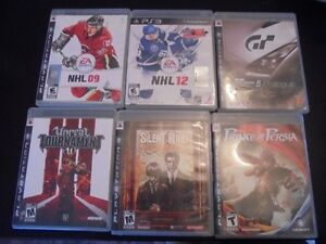 lot de jeu ps3 playstation