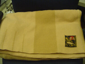 Vintage Early Warm All Wool Witney Made in England Blankets