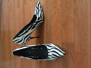 Zebra Pumps From Spring - Size 7