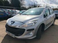 Peugeot 308sw runs and drives cat c repaired bit of MOT bargain spares or repair