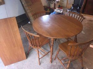 Solid maple kitchen set