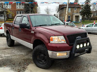2005 Ford F-150 SuperCrew XLT, LIFTED, COOPER ATR TIRES