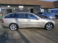 0454 MERCEDES-BENZ C180 1.8 KOMPRESSOR AUTOMATIC AVANTGARGE SE ESTATE 76KSH