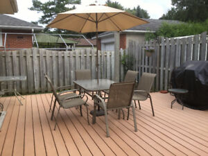 Patio Furniture - Great Condition