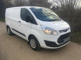 2016 16 Ford Transit Custom 2.2TDCi 290 L1 H1 100PS Trend Van HIGH SPEC