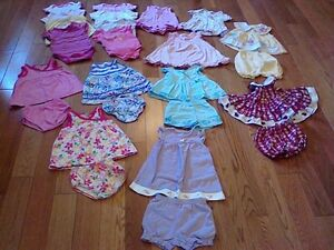 Baby Girl Summer Clothes (size 3-6 months) *some never worn!*