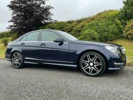 image for 2012 Mercedes-Benz C220 2.1CDI AMG Sport Plus ( M Pilot ) LOW MILES Blue Eff