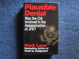Plausible Denial by Mark Lane 1991