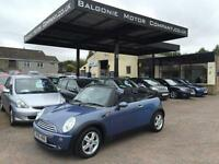 2006 56 MINI CONVERTIBLE 1.6 ONE 2DR