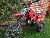 Pit bike 125cc fully working