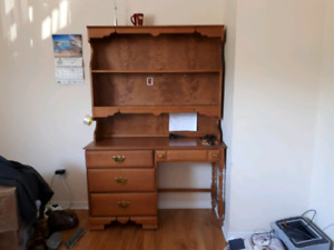 Wood Shelf Table for sale
