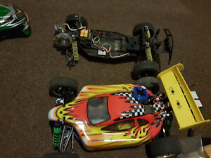 RC Cars and Accessories - One Large Lot for Sale - $200