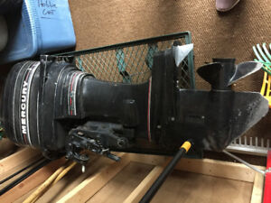 50 HP Mercury outboard engine for parts