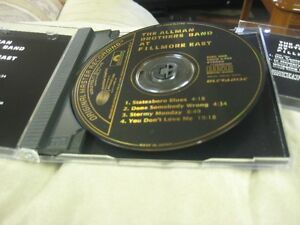 The Allman Brothers At Fillmore East - MOBILE FIDELITY Gold CD