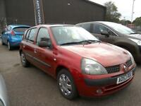 2003 Renault Clio 1.2 16v Extreme 2 Red 5 Door 104K FSH Long Mot Aircon Low Ins