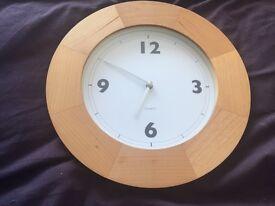 Unused Wall Clock.