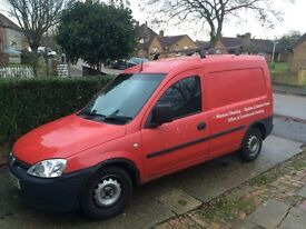 Vauxhall combo 1.3 diesel red 56 on 55 plate