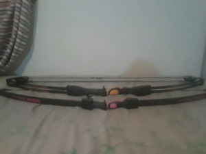 Two kids training bows for sale