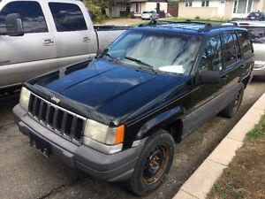 1997 Jeep Grand Cherokee Laredo parts ou route