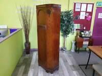 Solid Oak Single Wardrobe -Can Deliver For £19