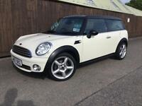 Mini Cooper Clubman 1.6 ( Chili ) 5d..FULL HISTORY..WHITE..STUNNING EXAMPLE..