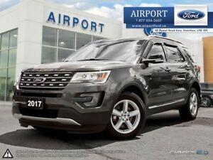 2017 Ford Explorer XLT 4WD with only 51,285