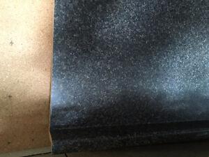 """48"""" bathroom counter - black speckle"""