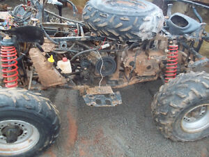 junking atvs and snowmobiles