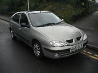 2002 Renault Megane 1.6 16v Expression + 5dr