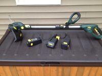 Ysrdworks 18v battery powered Grass Trimmer