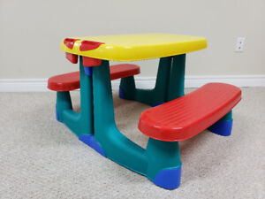 Kids Picnic Table-Always kept indoors!  ***REDUCED***