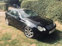 Mercedes-Benz C200 Kompressor 1.8 auto 2003MY Evo Panorama SE