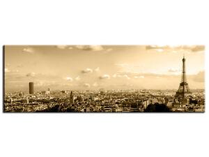 Tableau moderne d coration murale toile d co paysage paris bp8007 80x30 cm - Toile decorative murale ...