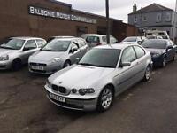 2003 03 BMW 3 SERIES 1.8 316TI SE COMPACT 3DR