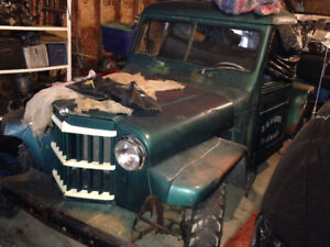 1954 Willys Truck SOLID Project