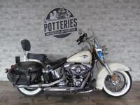 Harley Davidson Heritage Softail Classic 63 plate and Truly Immaculate!