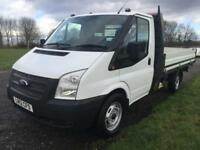 2012 Ford Transit 350 2.2 3.5T 12ft Dropside, 1 Owner, FSH, Lovely Clean Truck