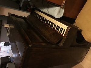 Decent shape piano.
