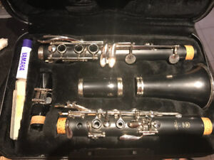 Yamaha clarinet - excellent condition - lightly used