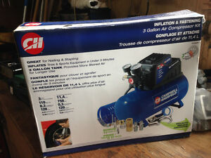 Air compressor new never used