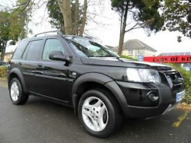 LAND ROVER FREELANDER 2.0Td4 AUTO 2006 COMPLETE WITH M.O.T HPI CLEAR INC