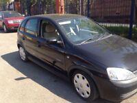 Corsa 1.2 design petrol. 5 door hatchback 2005. 11 months mot£595
