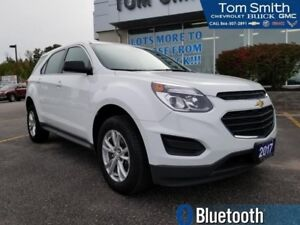 2017 Chevrolet Equinox LS  - Certified - Bluetooth - $173.77 B/W