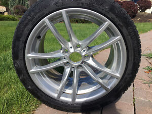"""BMW m performance 18"""" winter rims and tires"""