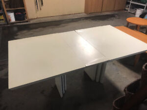 Free White Table  - ( Kitchen Dining Work Project )