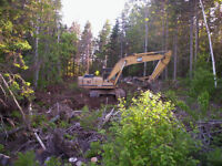 Lot Clearing - Ponds - Riding Ring Construction = Excavations