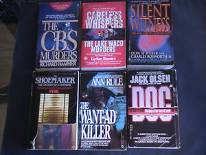 True Crime Story Paperback Collection!